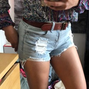 Pants - F21 High Rise Shorts